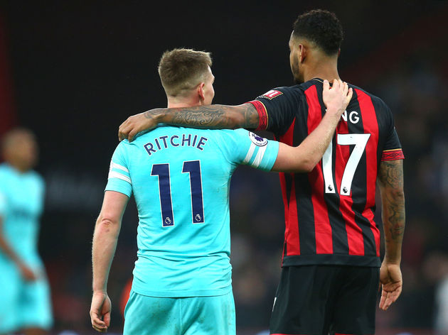 Matt Ritchie,Joshua King