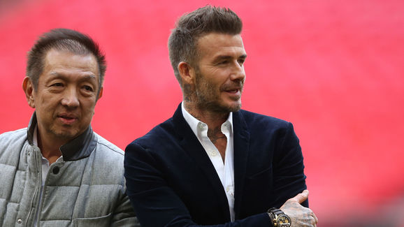 Peter Lim,David Beckham