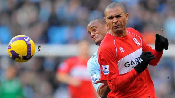 Manchester City's Belgian defender Vince