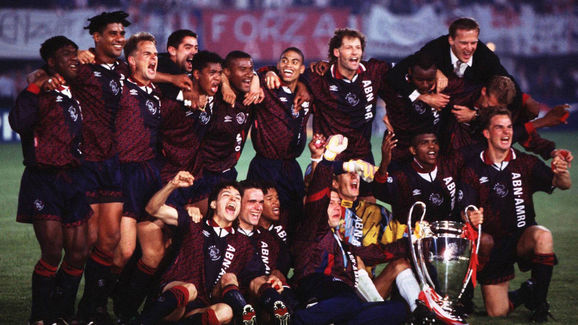 AJAX AMSTERDAM CHAMPIONS LEAGUE SIEGER 1995
