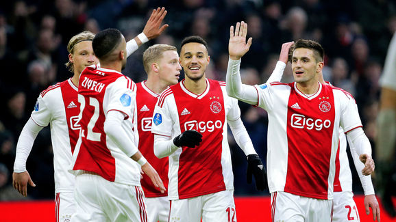 Ajax v De Graafschap - Dutch Eredivisie
