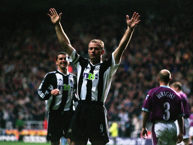 Alan Shearer celebration