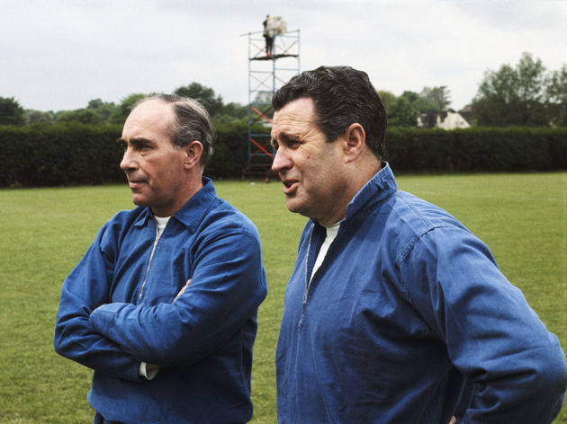 Alf Ramsey and Harold Shepherdson