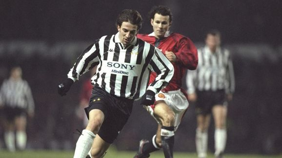 Allesandro Del Piero of Juventus in action