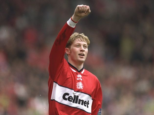 Alun Armstrong of Middlesbrough