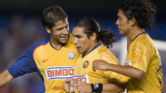 America de Mexico's footballer Salvador