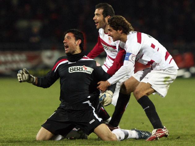 Andres Palop, goalkeeper of FC Sevilla (...