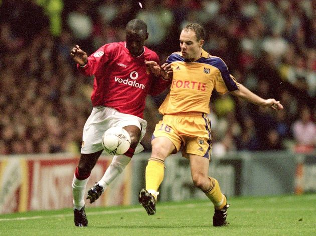 Andy Cole, Bertrand Crasson