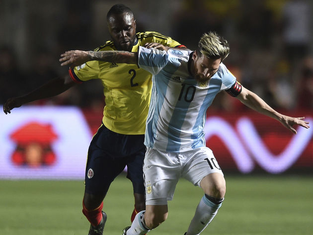 Lionel Messi,Eder Alvarez Balanta