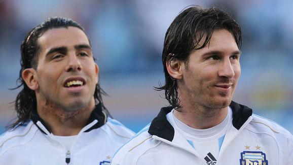 Carlos Tevez,Lionel Messi