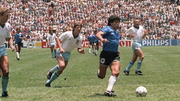 Argentinian forward Diego Armando Marado