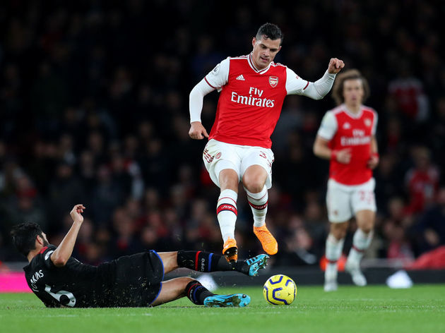 Granit Xhaka,James Tomkins