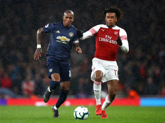 Ashley Young,Alex Iwobi