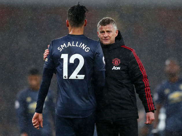 Ole Gunnar Solskjaer,Chris Smalling