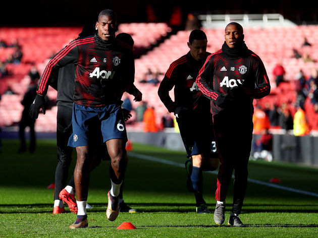 Paul Pogba,Ashley Young