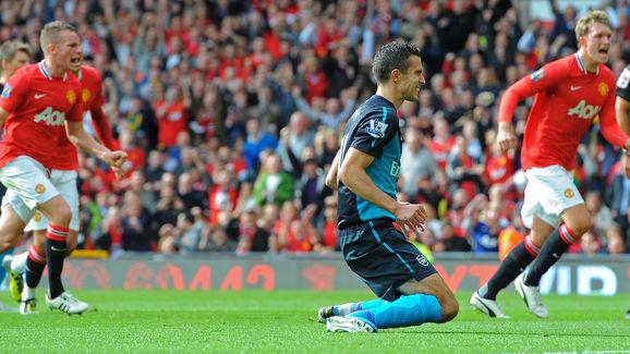 Arsenal's Dutch striker and captain Robi