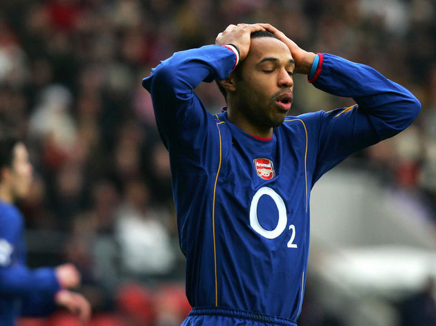 Arsenal's French player Thierry Henry re