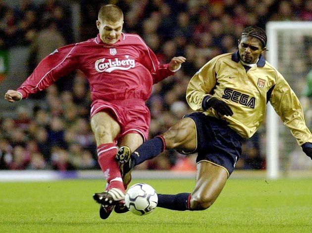 Kanu,Steven Gerrard