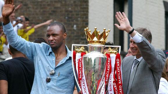 Arsene Wenger,Patrick Vieira