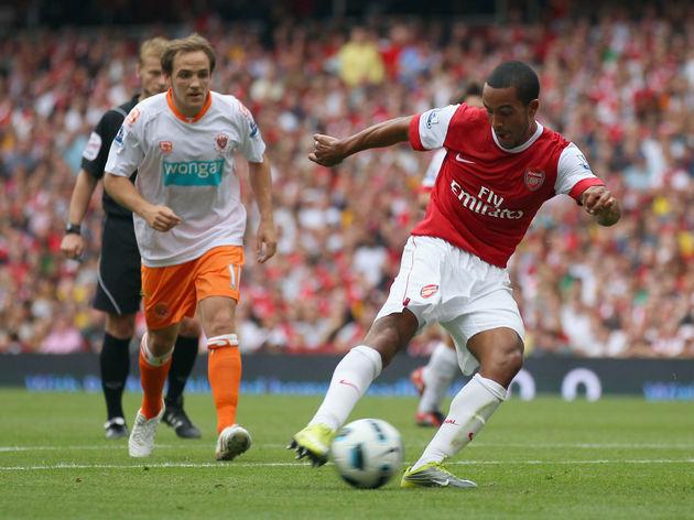 Arsenal v Blackpool - Premier League