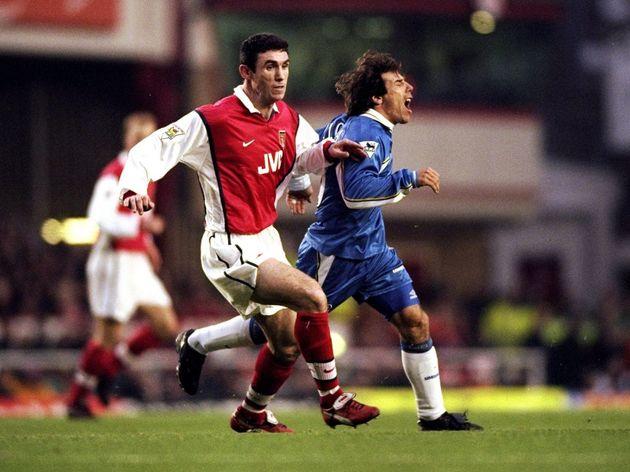 Arsenal v Chelsea Martin Keown