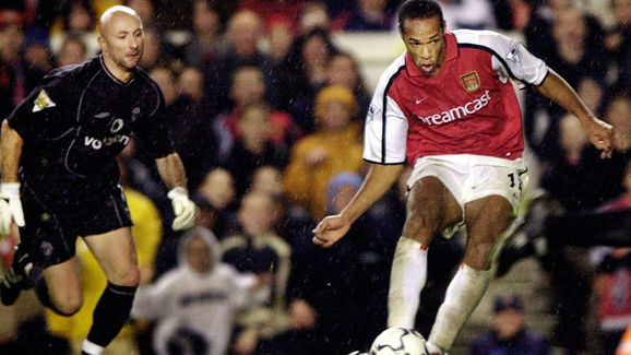 Arsenal v Manchester Utd Premier League at Highbury 2001