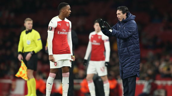 Joe Willock,Unai Emery