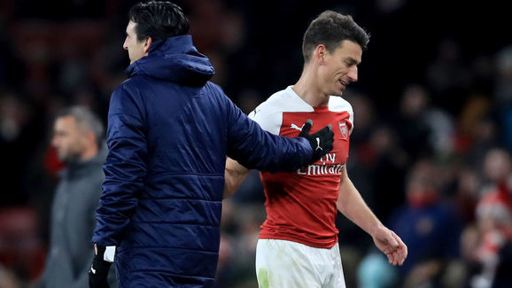 Laurent Koscielny,Unai Emery