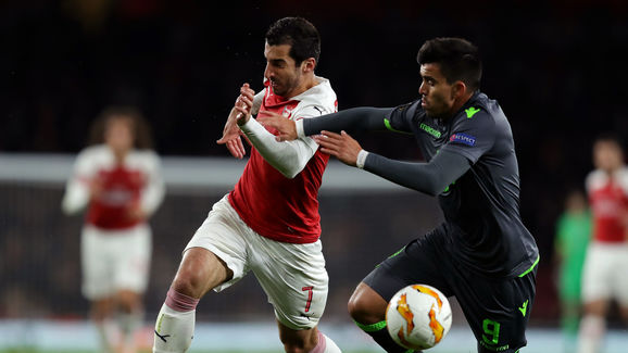 Arsenal v Sporting CP - UEFA Europa League - Group E