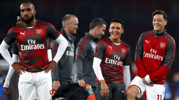 Alexis Sanchez,Mesut Ozil