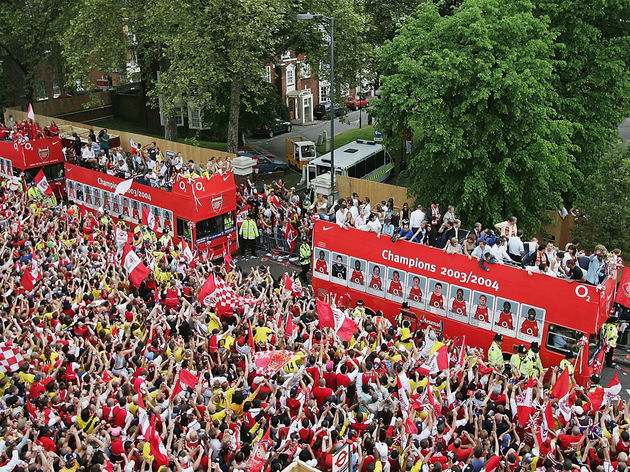 Arsenal Victory Parade