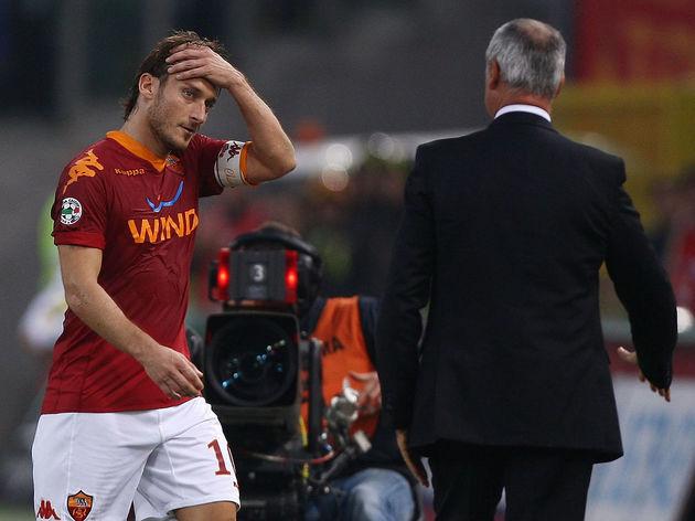 Claudio Ranieri,Francesco Totti
