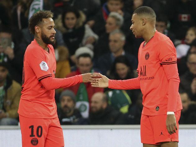 Kylian Mbappe,Neymar Jr