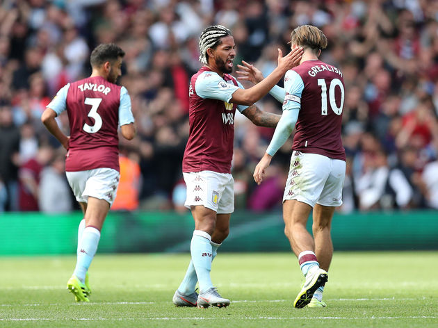 Douglas Luiz,Jack Grealish