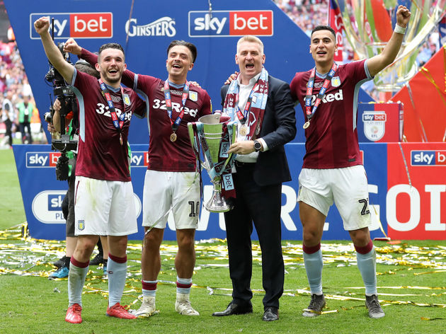 John McGinn,Jack Grealish,Dean Smith,Anwar El Ghazi