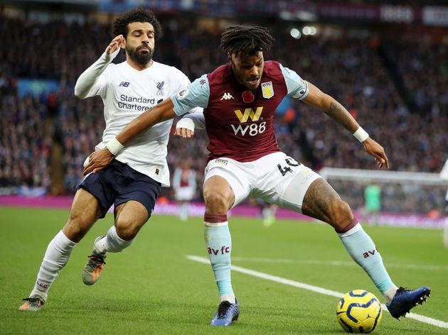 Tyrone Mings,Mohamed Salah