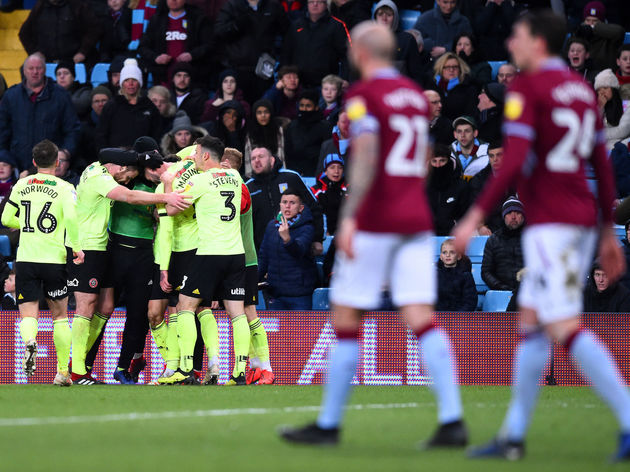 Aston Villa v Sheffield United - Sky Bet Championship