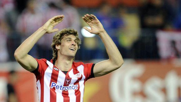 Athletic Bilbao's forward Fernando Llore