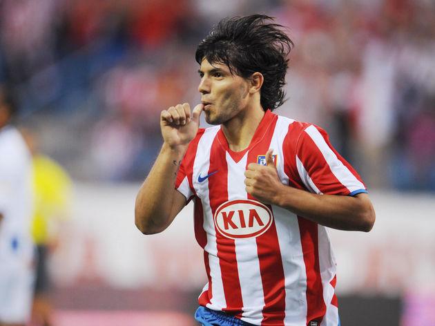 Athletico Madrid's Argantinian Kun Aguer