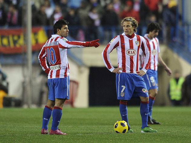 Atletico Madrid's Argentinian forward Ku