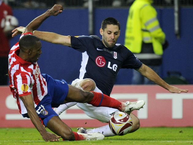 Atletico Madrid's Colombian defender Lui