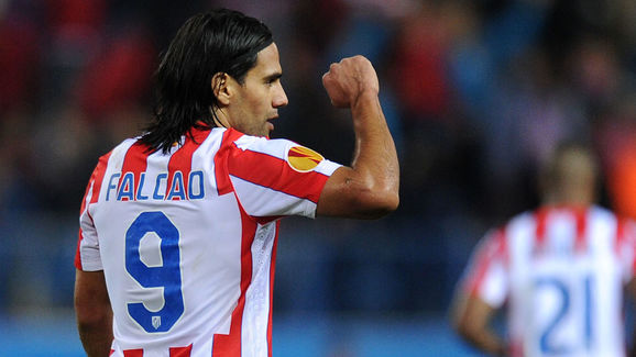 Atletico Madrid's Colombian forward Rada