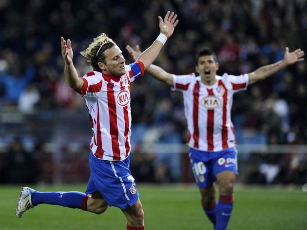 Atletico Madrid's Uruguayan forward Dieg