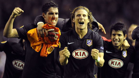 Atletico Madrid's Uruguayan forward Dieg