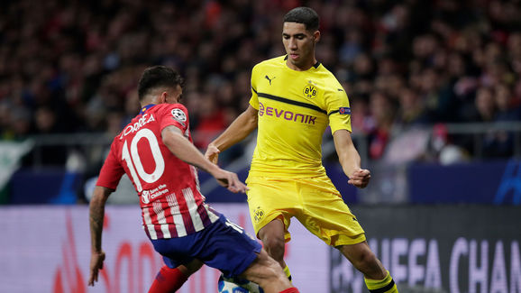Atletico Madrid v Borussia Dortmund - UEFA Champions League