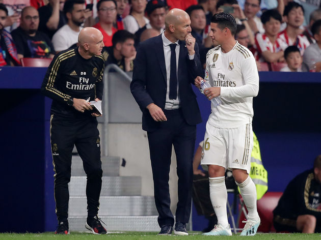 James,Zinedine Zidane