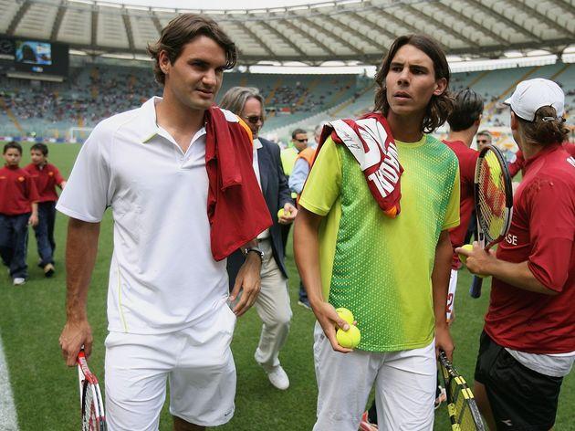 Roger Federer,Rafael Nadal