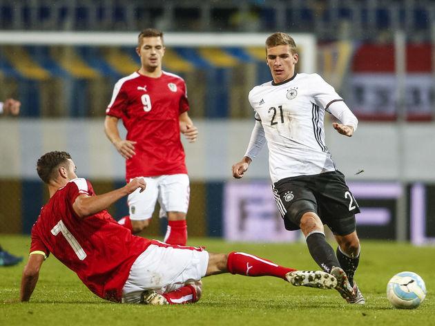 Austria U21 v Germany U21 - 2017 UEFA European U21 Championships Qualifier