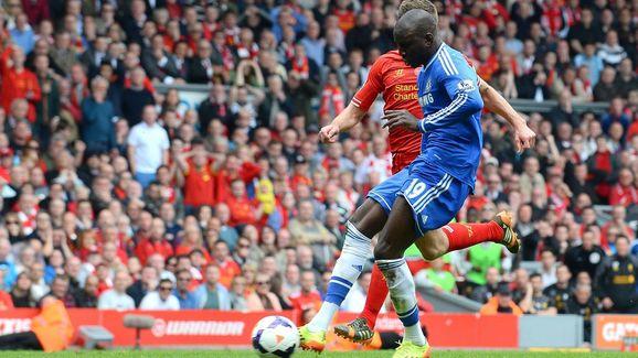 Ba scores against Liverpool