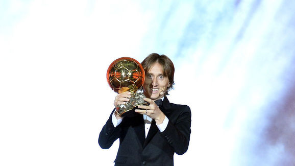 Ballon D'Or Ceremony At Le Grand Palais In Paris